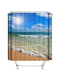 abordables -Rideaux de douche et anneaux Moderne Plastique / Polyester Imperméable / Cool