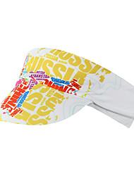 cheap -Mountainpeak Cycling Beanie / Hat Visor Lightweight Sunscreen Cycling Quick Dry Bike / Cycling Yellow Red Blue / White for Unisex Adults' Road Bike Cycling / Bike Recreational Cycling Pattern