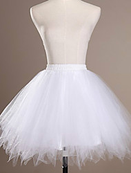 cheap -Ballet Classic Lolita 1950s Dress Petticoat Hoop Skirt Crinoline Women's Girls' Tulle Costume Black / White / Sky Blue Vintage Cosplay Wedding Party Princess