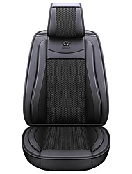 Недорогие -бизнес передние задние универсальные чехлы на сиденья автомобиля комплекты подушек аксессуары для автомобилей класса люкс / универсальный / полиэстер / кожзаменитель / хлопок