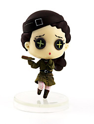 cheap -Anime Action Figures Inspired by Cosplay Cosplay PVC(PolyVinyl Chloride) 7 cm CM Model Toys Doll Toy