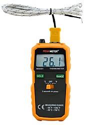Недорогие -Пикметр PM6501 ЖК-дисплей цифровой термометр с термопарой типа K termometro с удержанием данных
