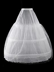 cheap -Bride Classic Lolita 1950s Dress Petticoat Hoop Skirt Crinoline Women's Girls' Costume White Vintage Cosplay Tulle Party Performance Princess