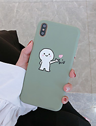 cheap -Case For Hot model Apple iPhone XR / iPhone XS Max Pattern Back Cover Cartoon Soft TPU for iPhone 6  6 Plus  6s 6s plus 7 8 7 plus 8 plus X XS XR XS MAX
