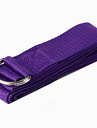 cheap -Stretch Out Strap Yoga Strap Terylene Adjustable D-Ring Buckle Improve Flexibility Yoga Fitness For Women's