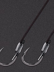 cheap -Circle Hook Fishing Hooks Thin Hang-Nail / Curved Point / Left-Curved Hook Point Sea Fishing / Bait Casting / Ice Fishing Alloy Easy Install / New Arrival / Easy to Use