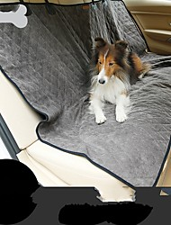 cheap -Rodents Dog Cat Car Seat Cover Health Care Mini Travel Folding Pet Mats & Pads Cotton Solid Colored Brown Gray
