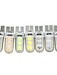 cheap -1 Piece T10 Car Light Bulbs 3 W SMD 5050 5 LED Interior Lights For Toyota / Benz / Honda All Models All years