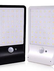 Недорогие -1 шт. 5 Вт солнечный настенный светильник водонепроницаемый солнечный инфракрасный датчик белый 5,5 В наружного освещения двора 36 светодиодных шариков