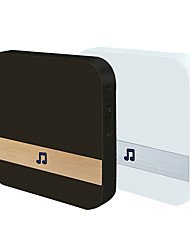 abordables -anytek mini sans fil 433mhz chargeable une sonnette mains libres / ding dong multifamille vidéo sonnette surface monté smart home security sonnette