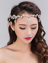 cheap -Decorations / Unsented Hair Accessories Crystal / Alloy Wigs Accessories Women's 1 pcs pcs N / A cm School / Quinceañera & Sweet Sixteen / Birthday Party Crystal / Headpieces / Diamond / Rhinestone