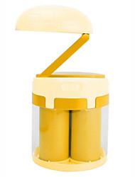 Недорогие -Новинка экологически чистый светодиодный ночник морской воды / соленой воды энергии настольная лампа для спальни на открытом воздухе кемпинга аварийный светильник