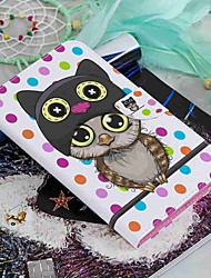 cheap -Case For Amazon Kindle PaperWhite 2(2nd Generation, 2013 Release) / Kindle PaperWhite 3(3th Generation, 2015 Release) / Kindle PaperWhite 4 Wallet / Card Holder / with Stand Full Body Cases Owl Hard