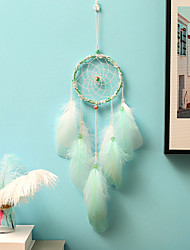cheap -Handmade Dream Catchers With Feather Wall Hanging Home Decoration Ornament Decor Ornament