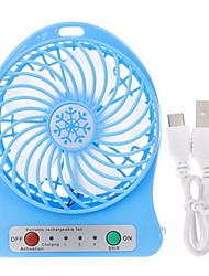abordables -nouveauté portable led lumière mini ventilateur refroidisseur d'air rechargeable usb vent fans bureau pour calculer produits ménagers décoration