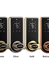 cheap -Smart professional electric mortise door lock for hotel security Others / lock / Brands Outlet Zinc Alloy RFID / Password unlocking / Mechanical key unlocking for Door