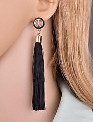 cheap -Women's Drop Earrings Dangle Earrings Tassel Dangling Classic Vintage European Ethnic Earrings Jewelry Green / Pink / Light Blue For Party Daily Carnival 1 Pair