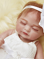 cheap -NPKCOLLECTION NPK DOLL Reborn Doll Baby 12 inch Full Body Silicone Silicone - Newborn lifelike Cute Eco-friendly Child Safe Non Toxic Kid's Girls' Toy Gift