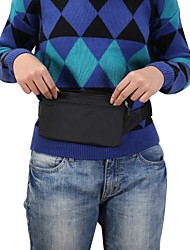 cheap -6.6 inch Case For Universal Card Holder Waist Bag / Waistpack Solid Colored Soft Nylon