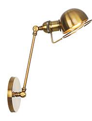 abordables -Antireflet / Style mini Rétro / Vintage / Moderne contemporain Lumières de bras oscillant Bureau / Bureau de maison / Magasins / Cafés Métal Applique murale 110-120V / 220-240V
