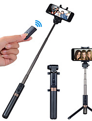 cheap -APEXEL Selfie Stick Bluetooth Extendable Max Length 68 cm For Universal Android / iOS Universal