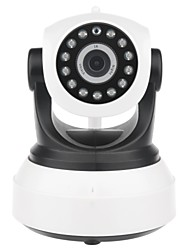cheap -Factory OEM N595FC 2 mp IP Camera Indoor Support 4 GB / PTZ / CMOS / Wireless / Remote Access / Zoom