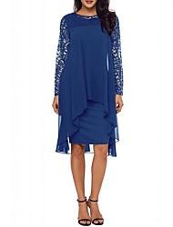 Недорогие -женское платье асимметричное смещение вино фиолетовое черное s m l xl
