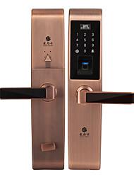 cheap -HOLISHI® D3668F Smart Lock Combination Lock Fingerprint Lock Smart Home Security System Suit for Left Door Right Door