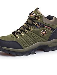 cheap -Men's Sneakers Hiking Shoes Hiking Boots Waterproof Breathable Comfortable High-Top Hiking Climbing Walking Autumn / Fall Spring Winter Brown Army Green Blue