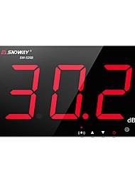 Недорогие -SW-525B цифровой измеритель уровня звука 30 ~ 130 дБ 3,0-дюймовый большой экран дисплей ресторан бар / офис / дома на стене шумомер sndway sw-525b