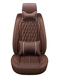Недорогие -бизнес передние задние универсальные автомобильные чехлы на сиденья и подголовники комплекты подушек класса люкс аксессуары для автомобилей универсальные / полиэстер / кожзаменитель / хлопок
