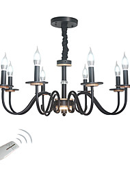 cheap -8-Light 78 cm Candle Style Chandelier Metal Novelty Painted Finishes Chic & Modern / Traditional / Classic 110-120V / 220-240V