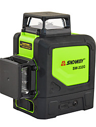 cheap -SNDWAY Laser Levels Green 360 3D Self Leveling Vertical Horizontal Rotary Lasers 8 lines Lasers Leveler SW-332G