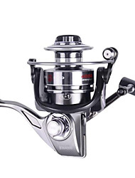 cheap -Fishing Reel Spinning Reel 5.2:1 Gear Ratio+12 Ball Bearings Hand Orientation Exchangable Sea Fishing / Ice Fishing / Spinning