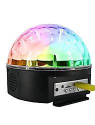 Недорогие -1 комплект Диско шар лампа Цветной От электросети Bluetooth / Дистанционно управляемый / Атмосферная лампа 100-240 V