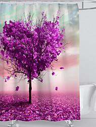 abordables -Rideaux de douche et anneaux Moderne Plastique / Polyester Imperméable / Créatif