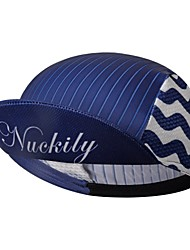 cheap -Nuckily Cycling Cap / Bike Cap Visor UV Resistant Breathable Quick Dry Sweat-wicking Bike / Cycling Navy Blue Spandex for Men's Women's Teen Adults' Road Bike Outdoor Exercise Recreational Cycling