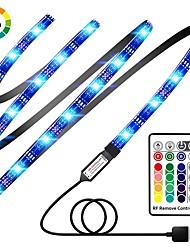 Недорогие -Наборы световых индикаторов KWB 2 м 120 светодиодов SMD5050 10 мм 1 Пульт дистанционного управления 24 ключа RGB USB / Linkable / Цветовой градиент 5 V 1 набор