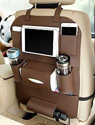 Недорогие -дешевые органайзеры для автомобилей многофункциональные сумки для хранения автомобилей искусственная кожа / полиуретановая кожа для универсального
