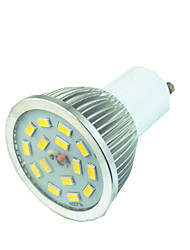 cheap -1pc 3.5 W LED Spotlight 300 lm GU10 15 LED Beads SMD 5730