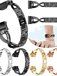 cheap -Smart Watch Band for Fitbit 1 pcs Jewelry Design Stainless Steel Replacement  Wrist Strap for Fitbit Charge 3 18mm