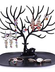 cheap -Storage Rack Creative Tree Shaped Foldable Multifunctional Jewelry Rack