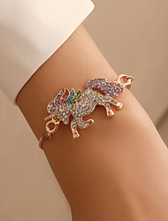 cheap -Women's Vintage Bracelet Bracelet Earrings / Bracelet Retro Blessed Simple Vintage Fashion Cute Elegant Imitation Diamond Bracelet Jewelry Gold / Silver For Daily School Street Holiday Festival