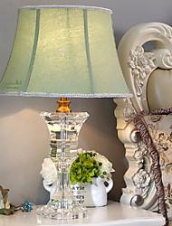 Недорогие -Настольная лампа Декоративная Простой Назначение Спальня Хрусталь 220 Вольт