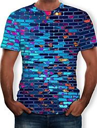 Недорогие -Косплей Косплей Как у футболки Терилен 3D Назначение Муж. / Жен.