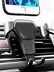 cheap -Car Mount Stand Holder Air Outlet Grille Buckle Type / Gravity Type / Adjustable ABS Holder