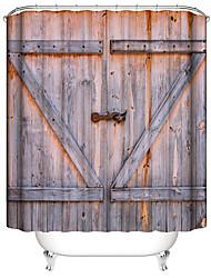 cheap -Shower Curtains & Hooks Contemporary / Classic Plastics / Polyester Waterproof / Premium Design