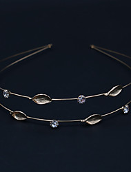 cheap -Women's Ladies Party Active Elegant Rhinestone Silver Plated Gold Plated Solid Colored