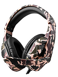 cheap -T-173M Camouflage Gaming Headset Casque Wired PC PUBG Gamer Stereo Gaming Headphones with Microphone for XBox One Laptop Tablet