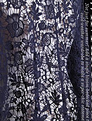 cheap -Lace Solid Stretch 120 cm width fabric for Apparel and Fashion sold by the 0.1m